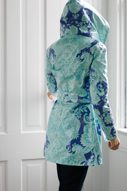 Amy Butler Rainy Days Hooded Raincoat Sewing Pattern